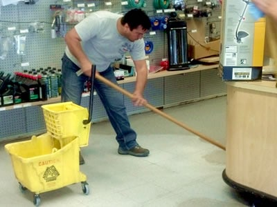 Outsourcing Cleaning - Commercial Cleaning Company